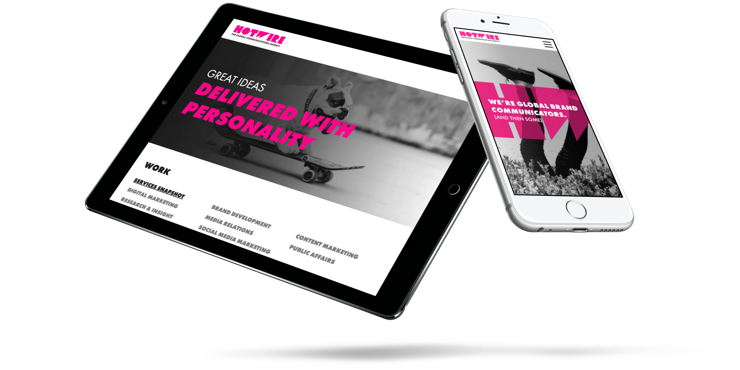 Hotwire responsive website